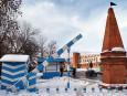 Вид достопримечательности.  Страна.  Город: Пенза.  Название (по английски): Tambov Outpost.