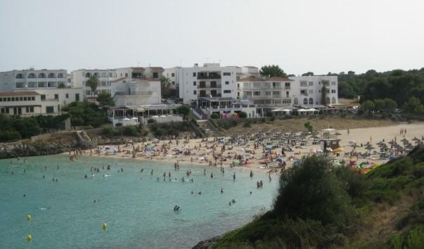 Пляж Кала Маршал ( Cala d′en Marçal ), муниципалитет Felanitx