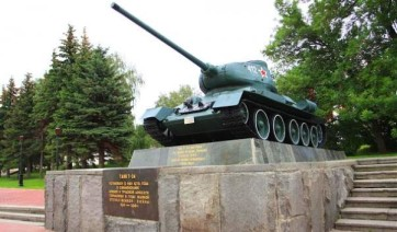 Памятник Танк Т-34-85