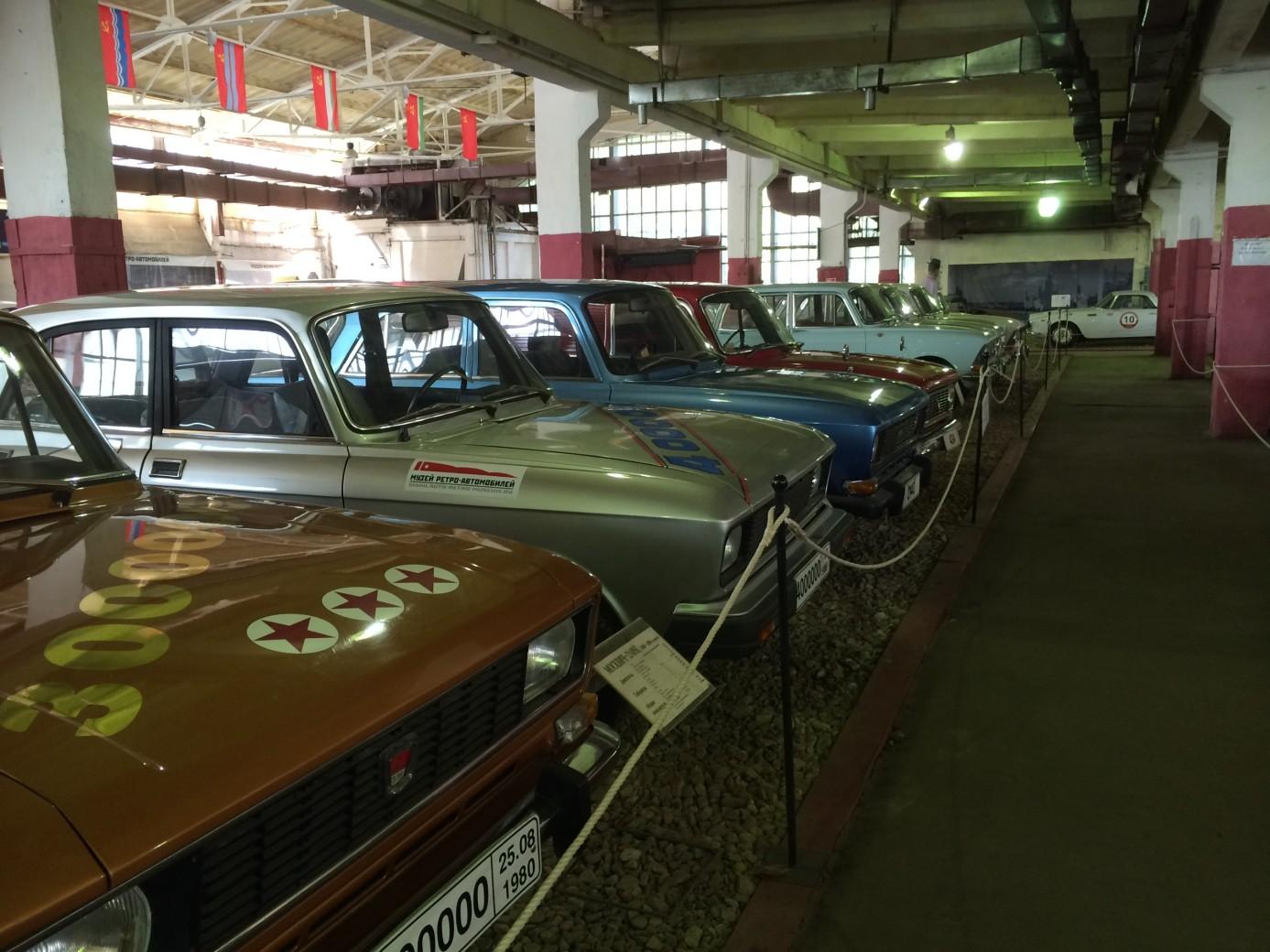 Золоторожский вал музей ретро автомобилей 6