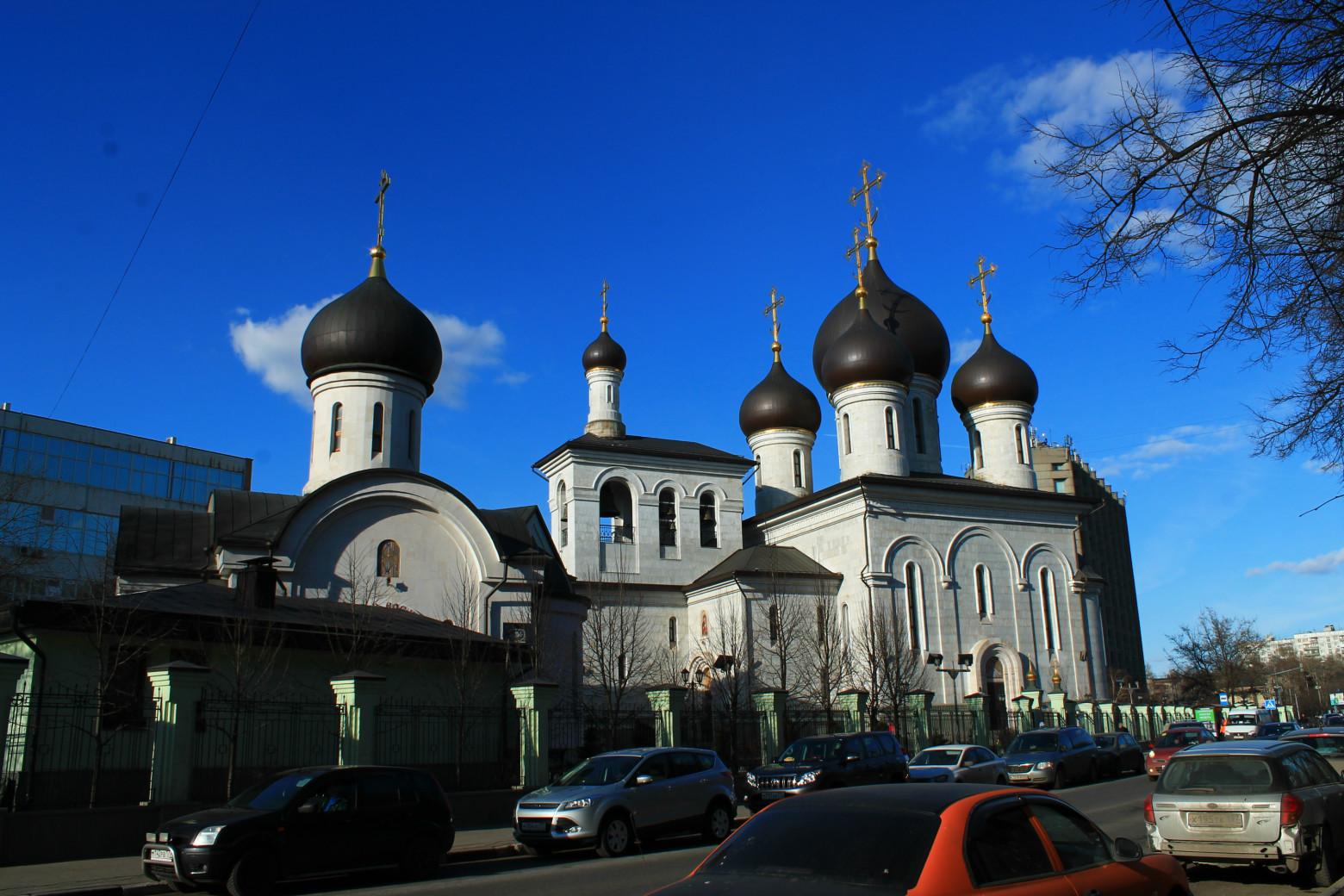 Храм сергия радонежского на рязанке 6 фотография